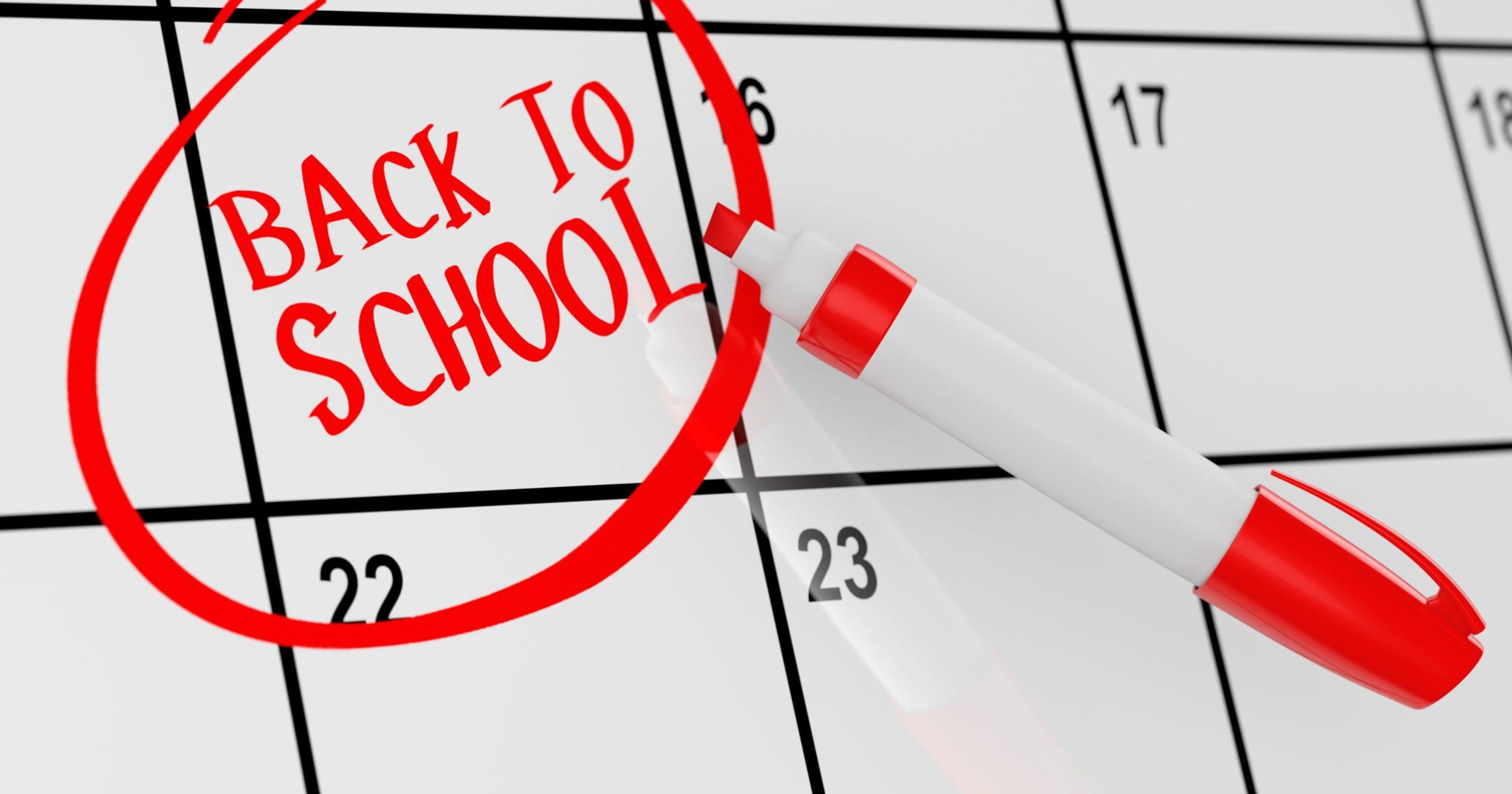Calendario Vaccini 2020.Back To School Le Date