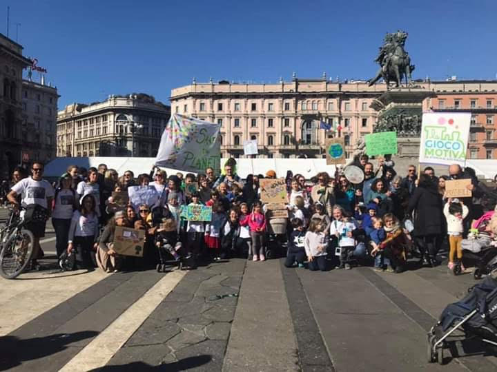 La Giocomotiva al fridaysforfuture