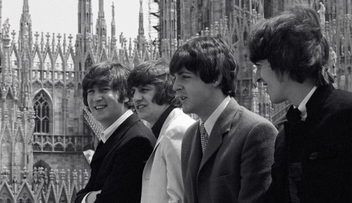I Beatles a Milano